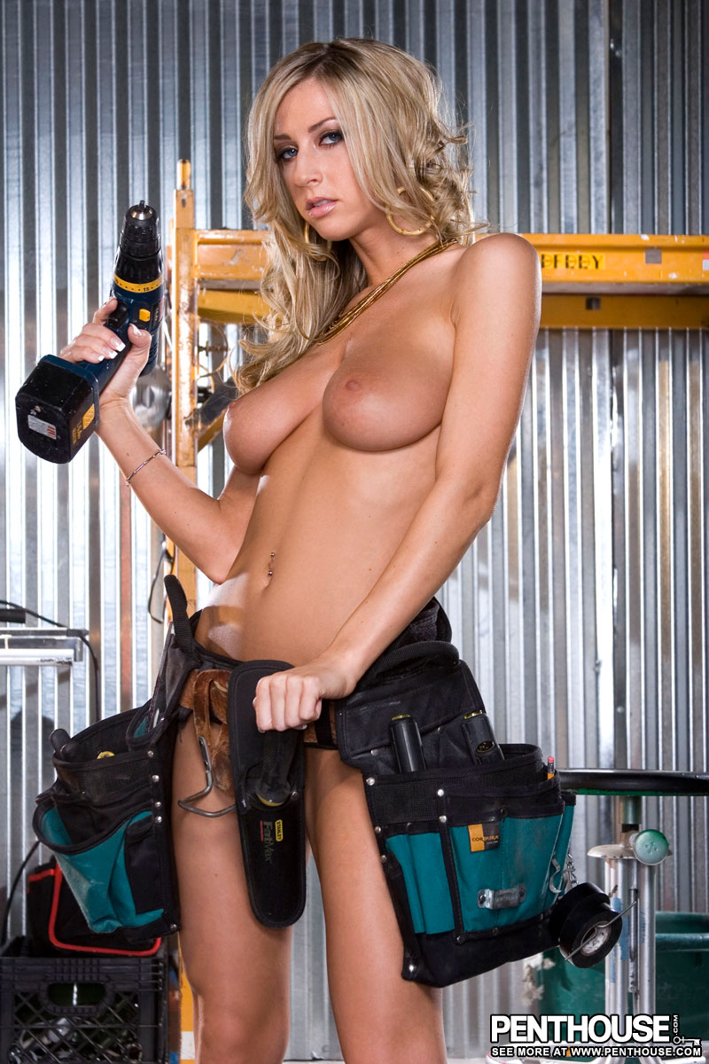 nude girls pics with chainsaw