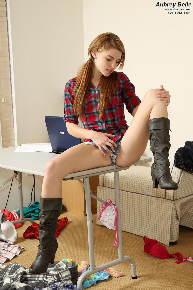 Unge Lolli Modeller Naken